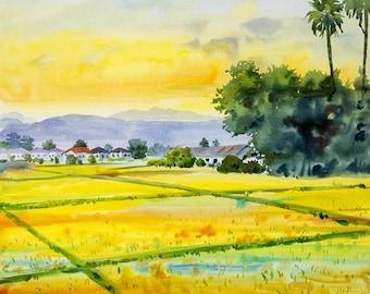 Watercolour Painting Clip Art Image JPEG High Resolution Q167