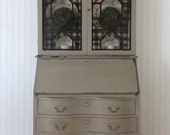 Secretary/ Desk/ Hutch/ China Cabinet/ Display Cabinet/ Dresser
