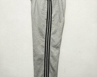 8c8624ae4ab7d7 Vintage Adidas 3 Stripe Small Logo Tracksuit Pants W-31 L-39 | Etsy