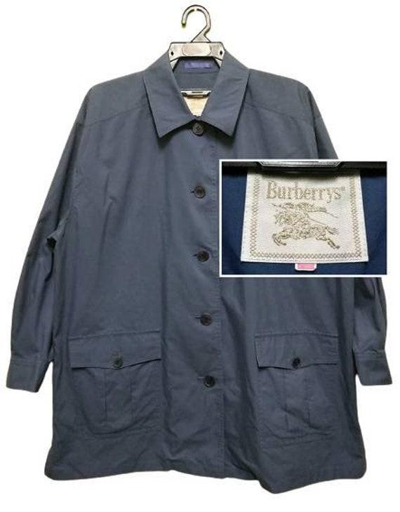 Vintage Burberrys Button Up Jacket