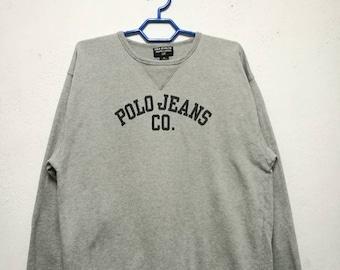 Vintage Polo Jeans Ralph Lauren  Sweater Sweatshirt