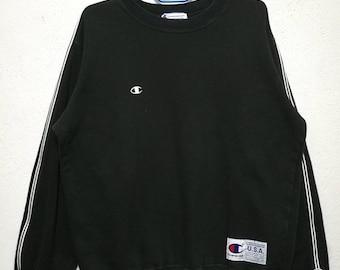 Vintage Champion Small Logo Sweatshirt Sweater