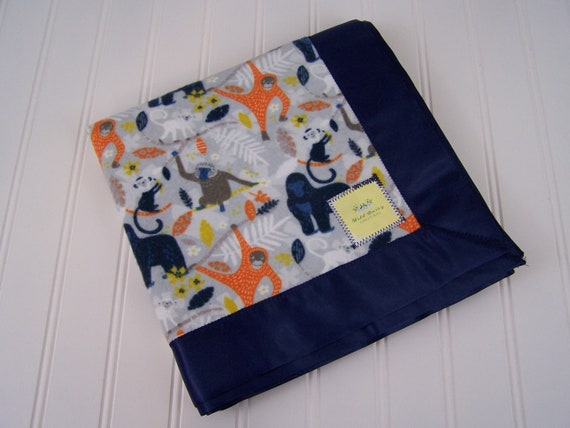 Boys 100/% Cotton Flannel Receiving//Toddler Blankets