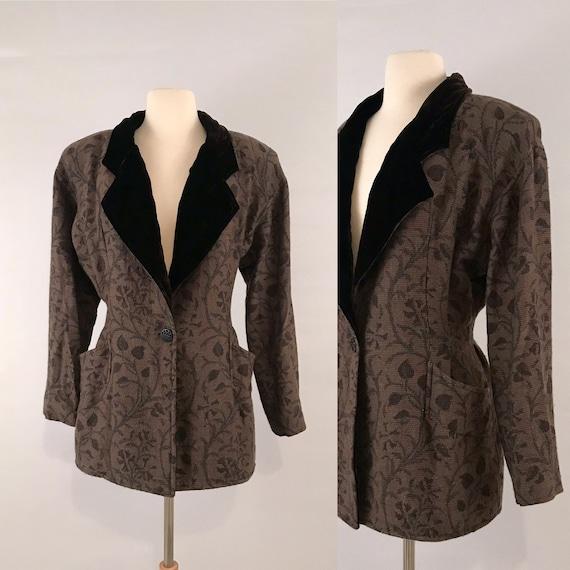 80s vintage Emanuel Ungaro Victorian jacket