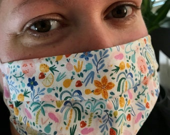 Adult Pleated Face Mask | Made by Miche Niche™ in California