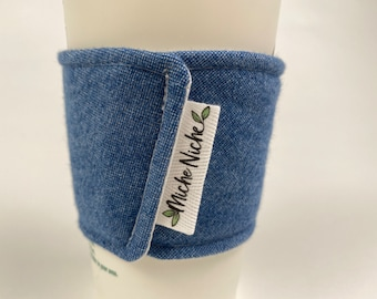 Reusable Coffee Cup Sleeve | Earth-Friendly Gift | Made by Miche Niche™ in California