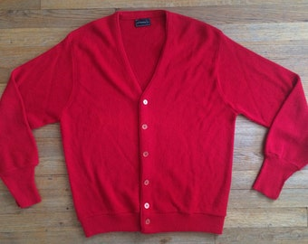 Vintage 1960 s Era JC Penney Acrylic Knit Cardigan Sweater 574986204