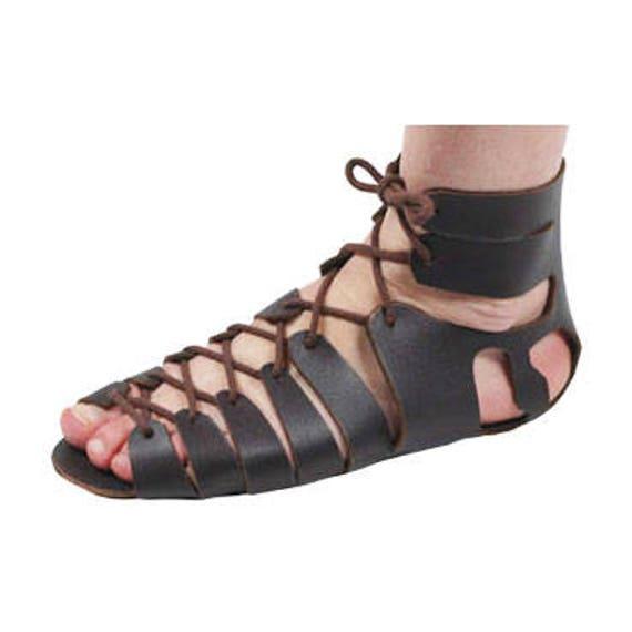 Römische Sandalen Leder Sandalen Gladiator Sandalen römischen Sandalen Kit