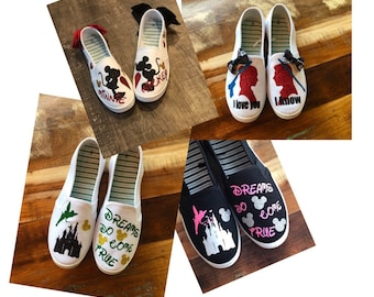 04f27e2bb3fd83 Disney Canvas Shoes