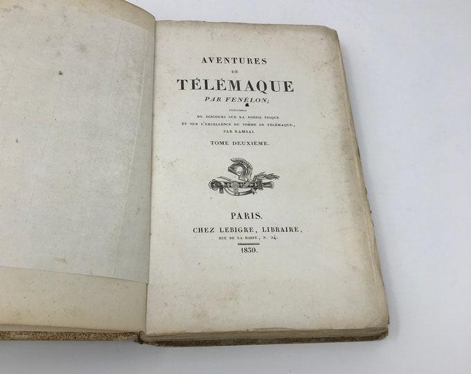 Aventuras de Telémaco hijo de Ulises-París 1830
