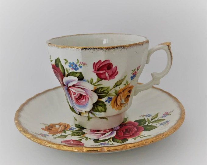Cup & Saucer H Aynsley & Co LTD