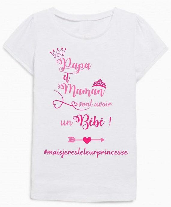 Future grande soeur tee shirt annonce naissance