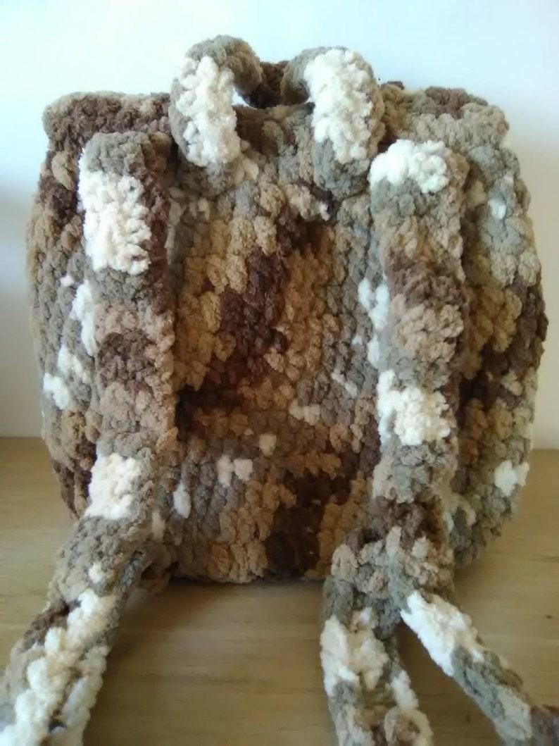 purse, Crochet backpack purse handbags backpack