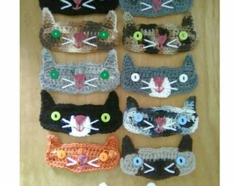 Face mask ear protector, crochet ear savers, face mask relief, mask extender, animal ear savers, button bands, mask mate, cat ear saver, cat