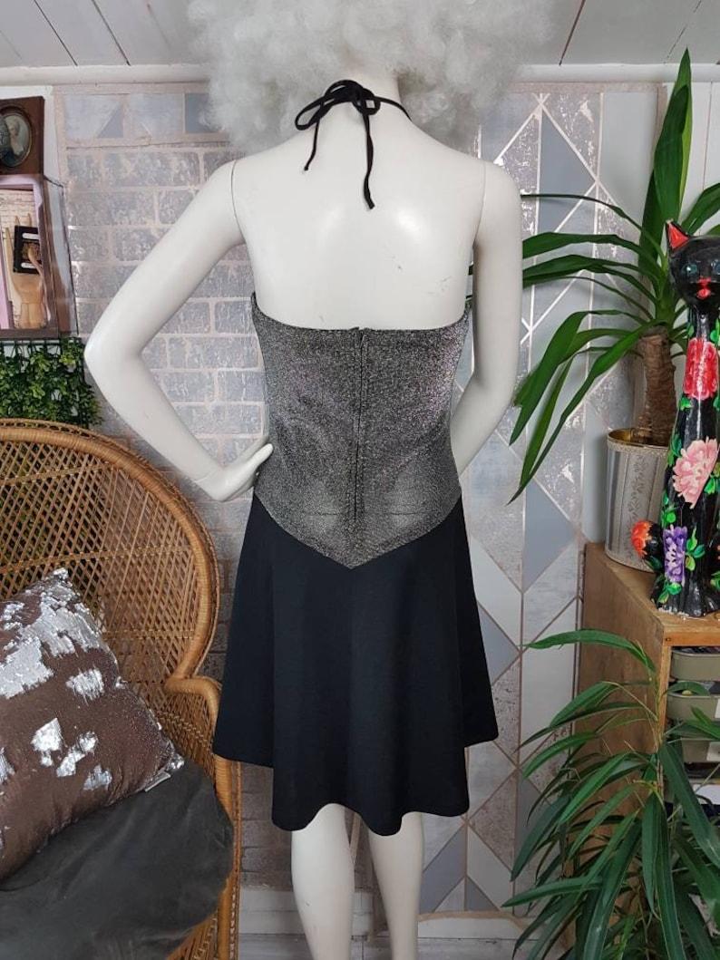 Black and silver dress UK size 12