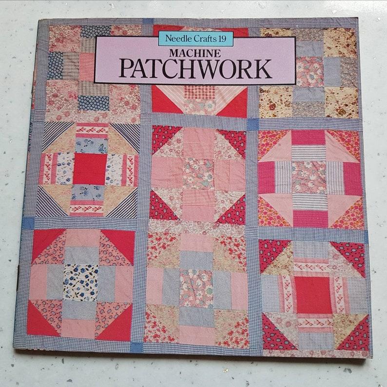 Vintage reference book on patchwork