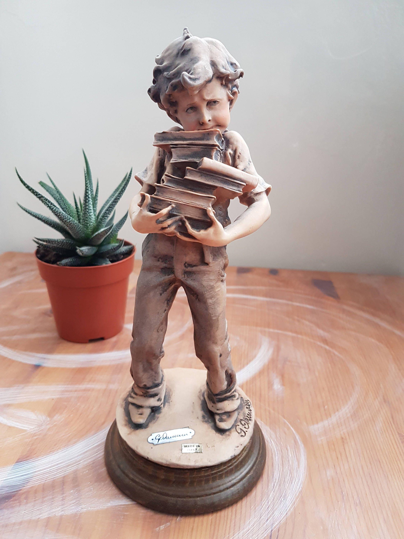 Giuseppe Armani Figurines Armani Figurine Boy Figurines Etsy