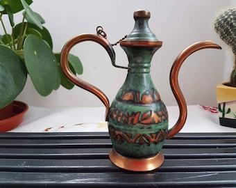 Aladdin copper lamp, Coffee copper  jug, Copper pitchers, Copper jug, small jug