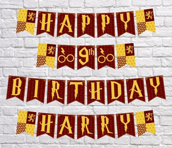 Harry Potter Inspired Banner