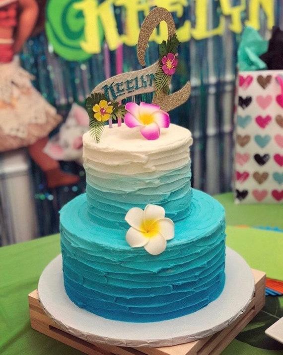 Moana inspired cake topper moana cake topper