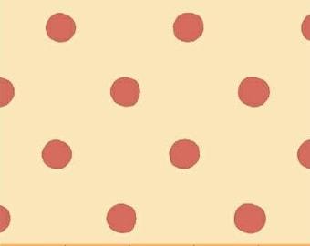 Heather Ross - Sugarplum - Spot in Red - (50169-4) - Quarter, Fat Quarter, 1/2 Yard or Yard++ Cuts