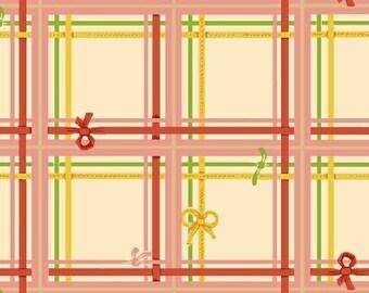 Heather Ross - Sugarplum - Plaid in Cream - (50168-2) - Quarter, Fat Quarter, 1/2 Yard or Yard++ Cuts
