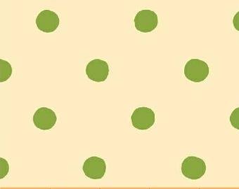 Heather Ross - Sugarplum - Spot in Green - (50169-5) - Quarter, Fat Quarter, 1/2 Yard or Yard++ Cuts