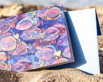 Fish Fiesta Note Card Set (8)
