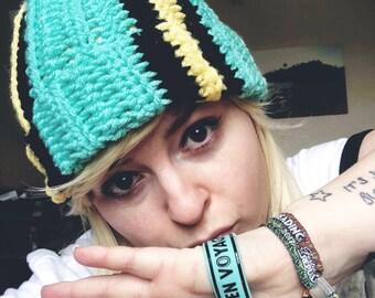 3434ebe5b19 Paramore Parahoy inspired crochet beanie hats
