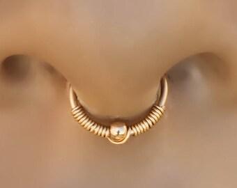 Septum Ring,Gold Septum Ring,septum ring 20g,tiny septum ring,septum jewelry,septum hoop,gold septum hoop,22g septum ring,septum cartilage