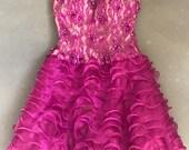 Vintage 80s Prom Dress by Alyce Designs NWT SZ 4
