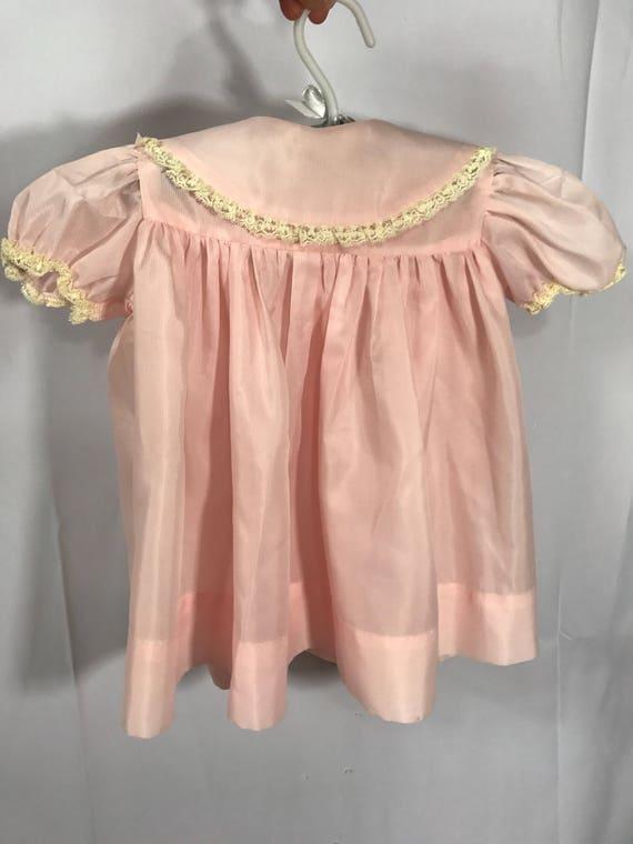 1940s Baby Girls Robe/Dress 18m - image 3