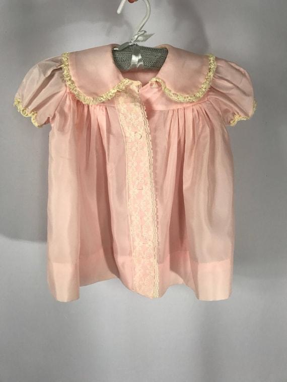 1940s Baby Girls Robe/Dress 18m - image 2