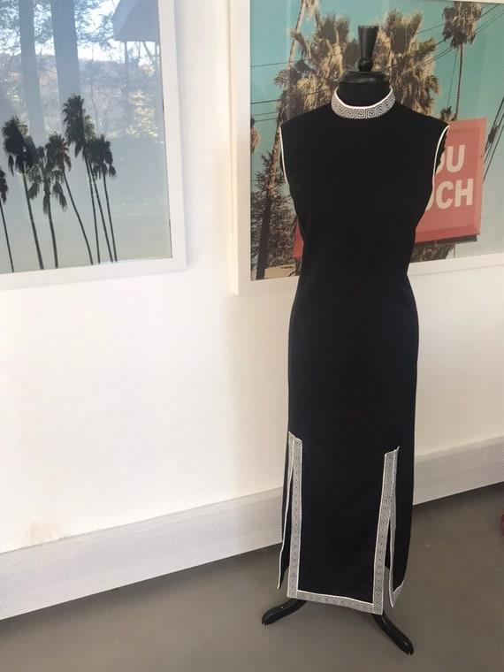Alfred Shaheen Maci Aztec Dress Sz M