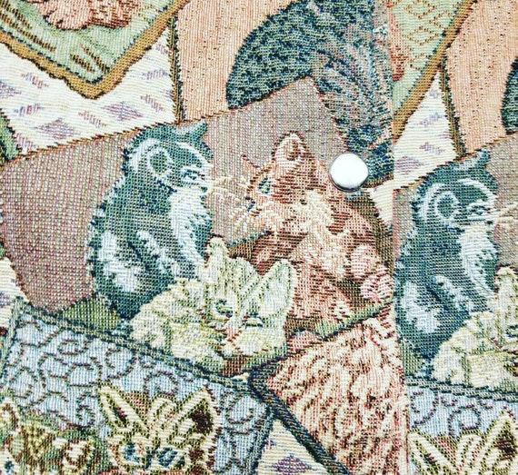 Vintage Cat Vest, Vintage Festival Fashion, Vintag