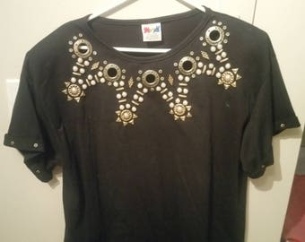 Vintage/Retro Women's Gold/SteamPunk/Egyptian/Festival/Costume Shirt  One Size Fits All