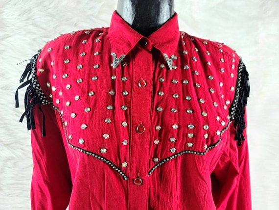 Vintage Red Ringling Brothers Circus Shirt, Wester
