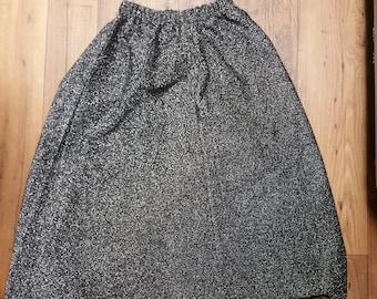 Vintage/Retro Women's Glitter Sparkle TV Static A-Line Skirt Size 12