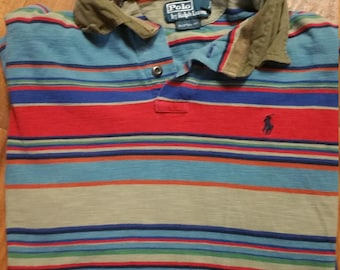 Custom Fit Colorful Polo by Ralph Lauren Size XL (fits like a Size L)