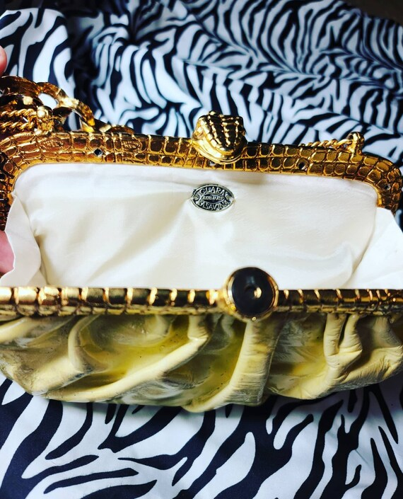 Beautiful Vintage Clara Kasavina Clutch Evening Ba