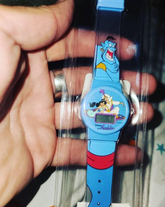 Vintage Unopened Aladdin Watch, 90s Disney Memorab