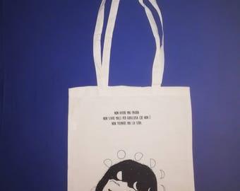 ffac22c185 Shopper borsa colore natural 100% cotone - stampa