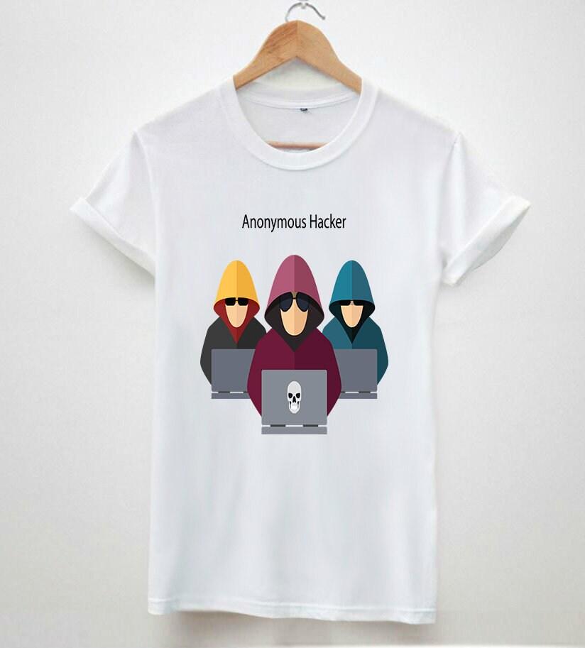 Anonymous pirate cybre internet cybre pirate hipster rétro vintage imprimé hauts de T-shirt unisexe t-shirt pour hommes 49f4f1