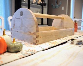 Centerpiece, Rustic Tool Box, Fall Decor, Fall Table, Rustic Decor, Farmhouse Decor, Vintage Tool Box
