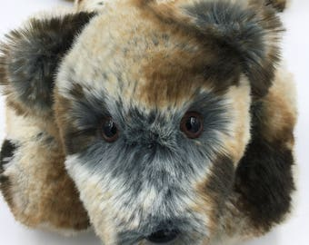 Teddy Bear, Incredibly Soft, Huggable, Plush, Handmade, OOAK, Children & Adults, Irresistible, Comforting to hold, Cuddly, multi colored