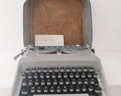 Remington Monarch deluxe typewriter