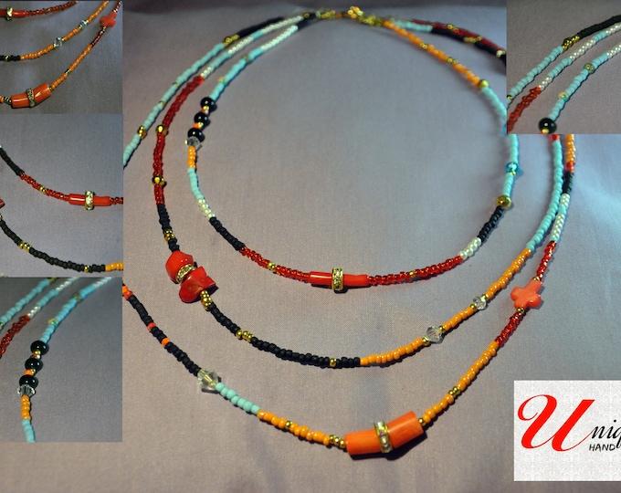 Multicolored necklace