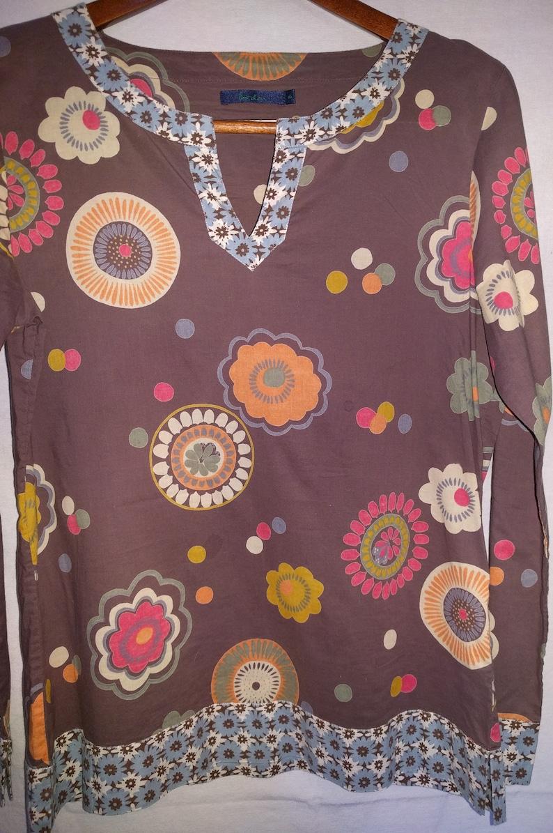 c8214a6a8ed SOLD OUT Vintage Cotton Shirt Boden UK Size 8 Medium 100% | Etsy