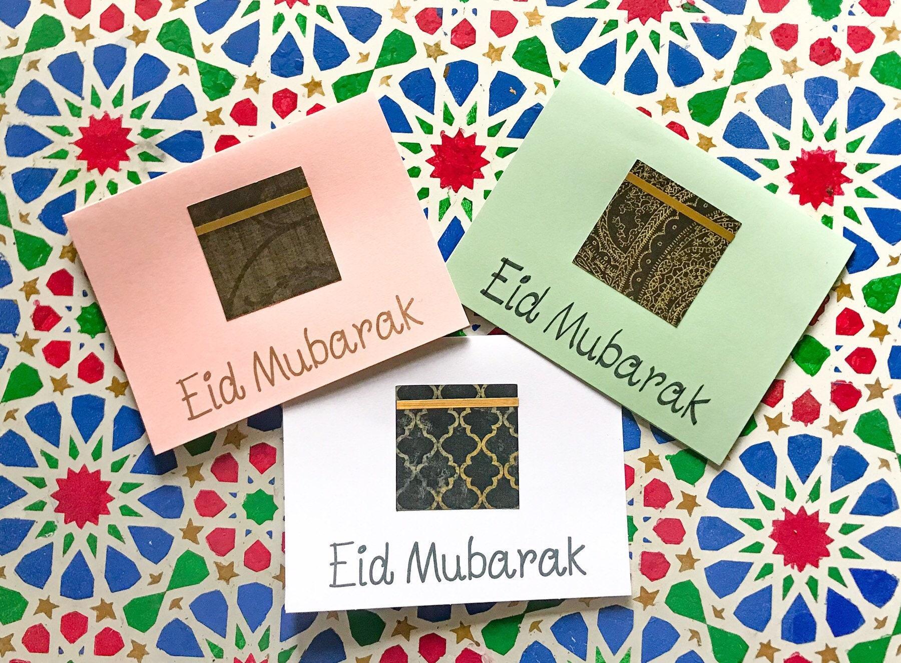 Eid Mubarak Or Hajj Mubarak Greeting Card