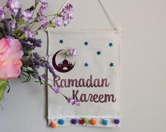 Premade discounted Ramadan Kareem banner